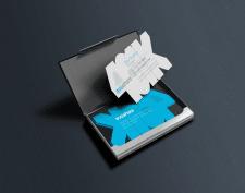 Дизайн именной визитки
