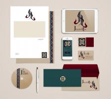 Фирменный стиль для текстильной фабрики