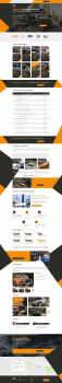 Дизайн Landing page по тюнингу внедорожников