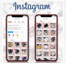 Оформление магазина в Instagram
