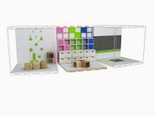 Модульная система детских игровых зон.