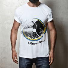 Дизайн футболки для фестиваля