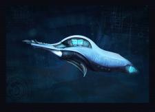 Fantastic space ship
