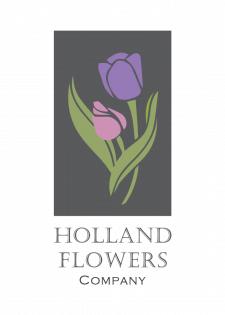 Логотип для флористической компании