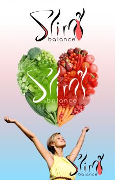Комплекс здорового питания для похудения / логотип