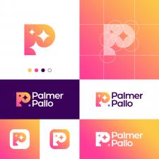 Star P Letter Logo