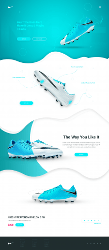 Nike Sneakers - лучшие кроссовки для футбола