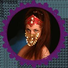 Веб-сайт для східної танцівниці з Чехії