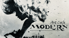 "Логотип арт кафе ""Модерн"""