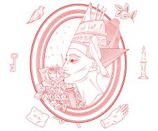 Иллюстрация (контурная отрисовка)