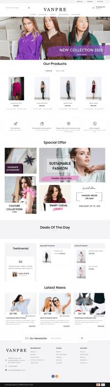 Интернет-магазин женской одежды.