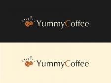 Пример логотипа для магазина кофе