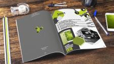 Дизайн и верстка журнала про гаджеты
