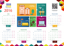 Календари, брошюры, визитки