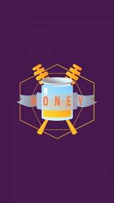 Логотип для компании, продающей мед
