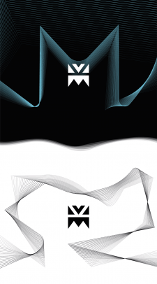 """MK"" logo design"