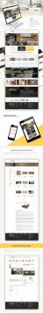 Дизайн для интернет-магазина напольных покрытий