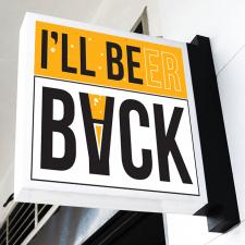 "Логотип для паба с названием ""I'll BeerBack"""