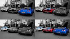 Обработка фото в Ч\Б с цветовым акцентом