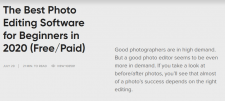 The Best Photo Editing Software for Beginners in 2