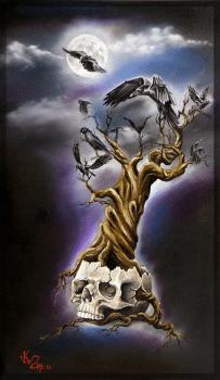 Skull & Crows