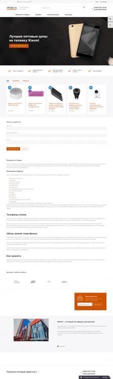 Продвижения сайта miopt.ru