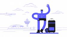 Иллюстрация Vacation is over
