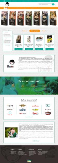 Разработка сайта под ключ Darwin