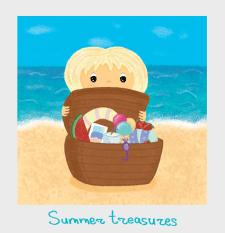 Summer treasures