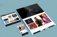 Дизайн сайта для фешн-дизайнера