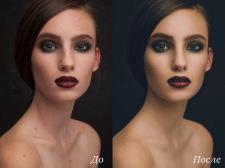 Портретная ретушь, тонирование