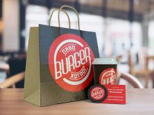 Логотип и визитка для закусочной