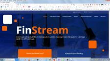 """Внутренняя оптимизация сайта """"FinStream"""""""