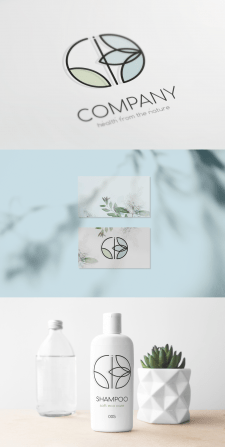 Logotype Design, light, eco-friendly