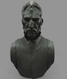 Game character from dishonored