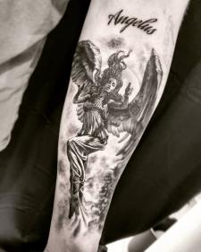 Tattoo sleeve тату рукав