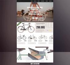 Адаптивная верстка Landing Page - Bike