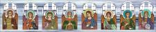 Разработка макетов наливных витражей для церкви