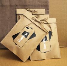 Дизайн упаковки с логотипом