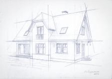 зарисовка дома