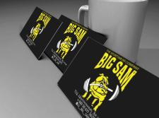 BIG SAM визитка