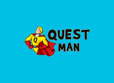 """Questman"" Logo for Best Quest Company"