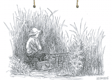 Рибалка. Гелева ручка