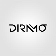 """эмблема-логотип для диджея """"DIRAMO"""""""