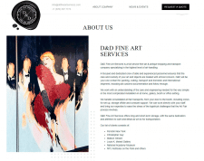 D&D Fine Art Services