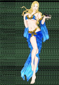 Девушка-богиня.