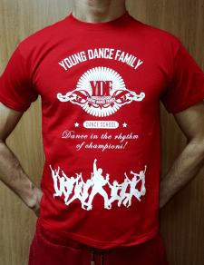 Разработка дизайна фирменных футболок
