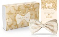 упаковка мужская бабочка золото