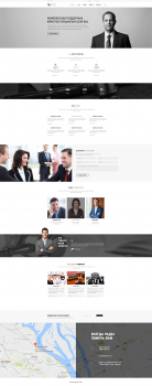 """Дизайн Landing page """"Юридическая компания"""""""