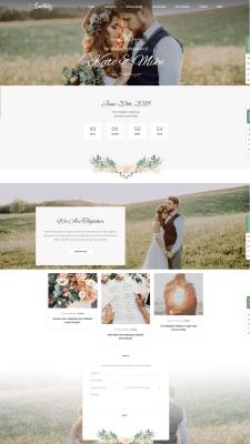 Сайт для пары на свадьбу